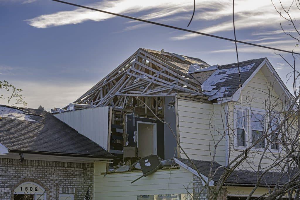 hurricane michael house damage